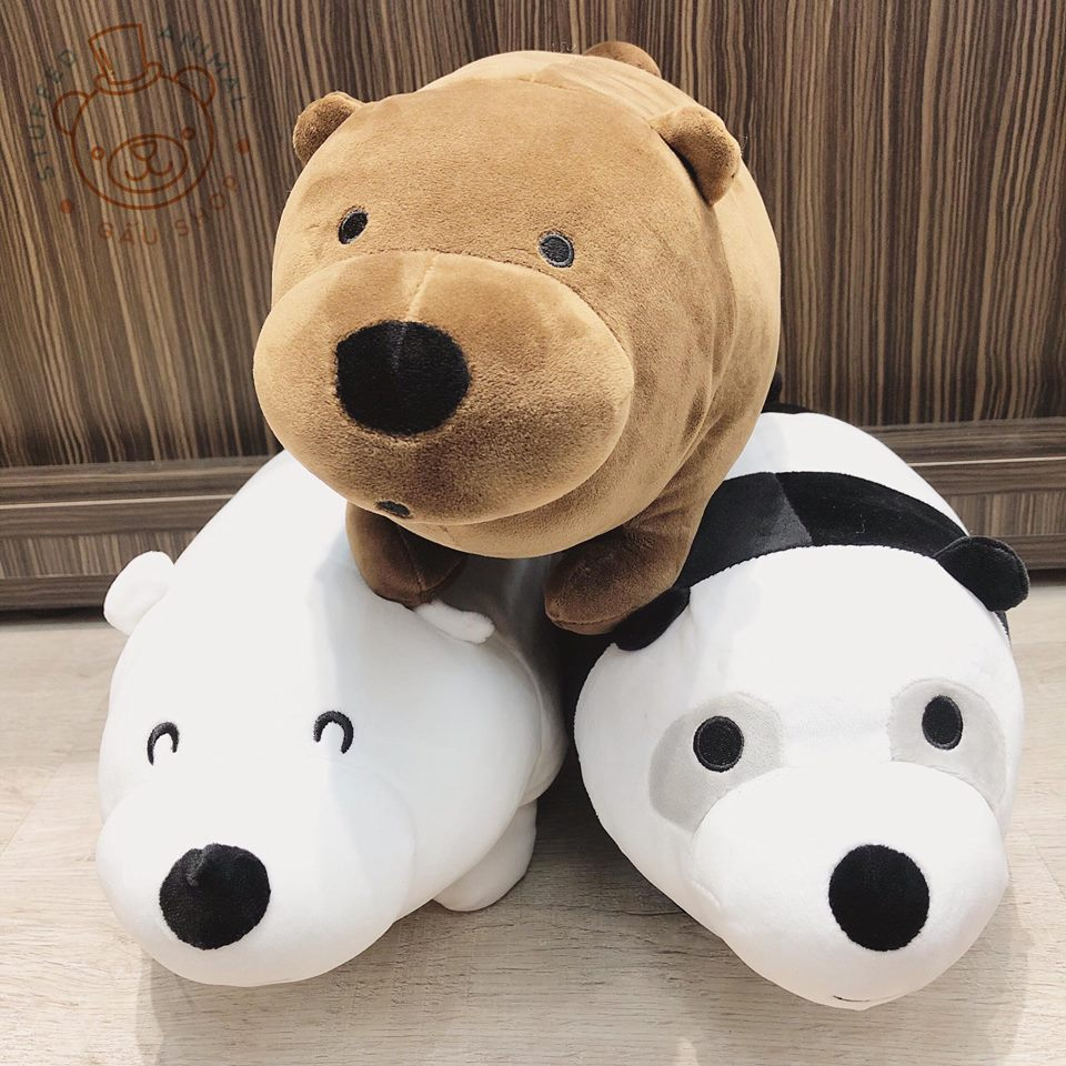 We Bare Bear nằm mịn